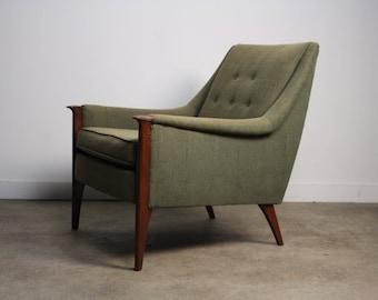 Early Mid Century Danish Lounge Chair