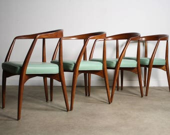 RARE Lawrence Peabody Dining Chairs - A Set of 4