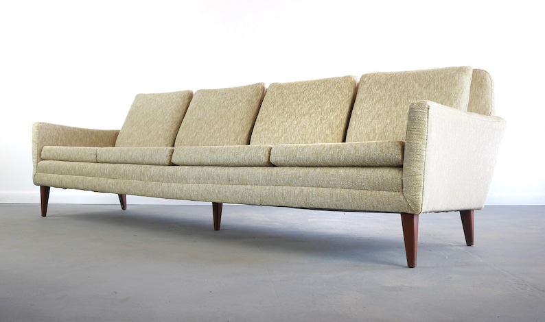 Delicieux Folke Ohlsson For DUX Mid Century Sofa In Original Fabric