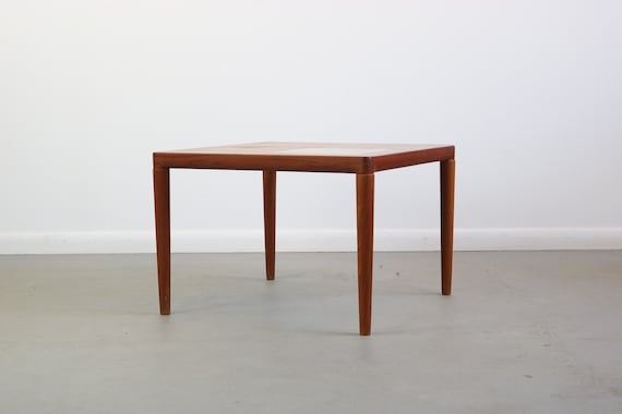 Sidetable Wit Klein.Teak End Table Side Table With Tile Inlay By Hw Klein For Bramin
