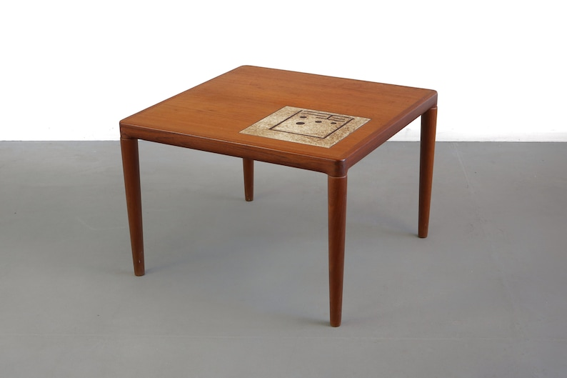 Kleine Sidetable Wit.Teak End Table Side Table With Tile Inlay By Hw Klein For Bramin