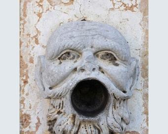 Color photography, Photo Print Sicily, Bagheria villa of monsters, Villa palagonia Bagheria Palermo, Baaria Sicily