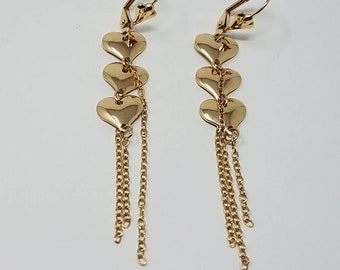 14K Gold Filled Dangle & Drop Earrings / Free Shipping in the US!