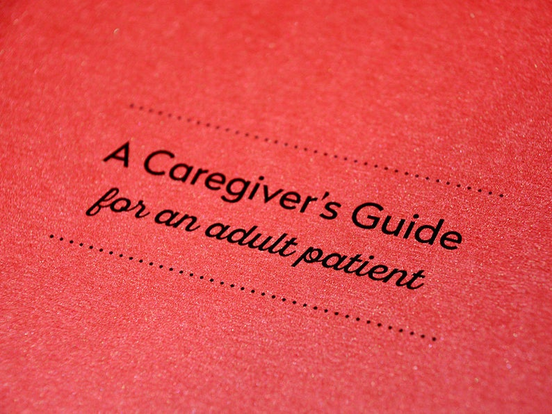 A Caregivers Guide For An Adult Patient image 0