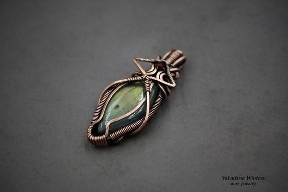Copper Jewelry Handmade Jewelry Labradorite Jewelry Wire Etsy
