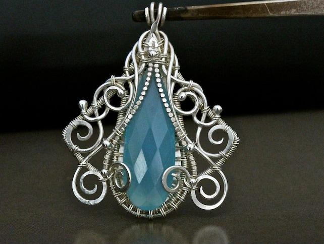 TUTORIAL Pendant tutorial Jewelry Tutorial Wire Jewelry | Etsy