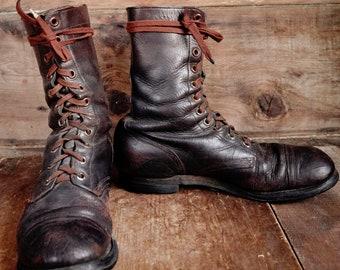 Vintage Korean War Boots!