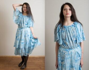 Licht Blauwe Jurk : Blauwe jurk etsy