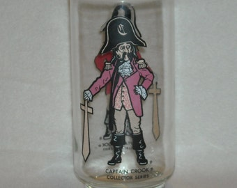 1976 McDonalds Captain Crook Collector Series Glass Tumbler. nk3b