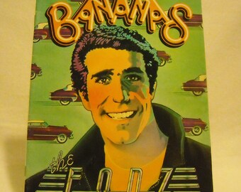 Vintage 1976 The Fonz Bananas Magazine with Henry Winkler. nLca