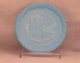 Milk Glass Trays Plates