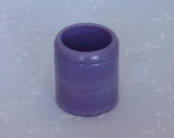 Antique Rare Lavender Milk Glass Jar. Light Purple Bottle w Slight Marbling Slag. Embossed w Armour & Co Packers Chicago on Bottom. uajar29