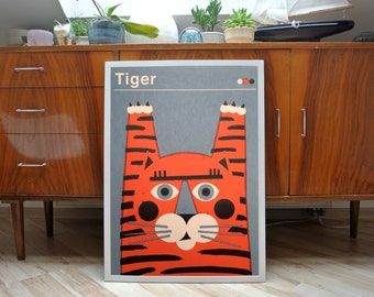 Tiger | Screen Print Poster | limited edition