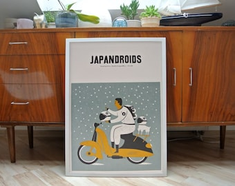 Japandroids | A2 screen print | limited edition of 30