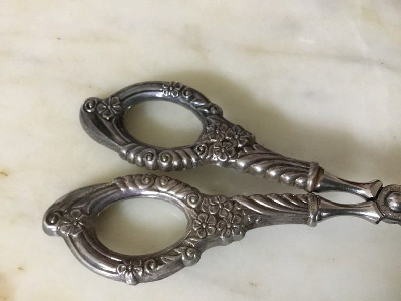 Sterling silverplate pastry server made in Italy