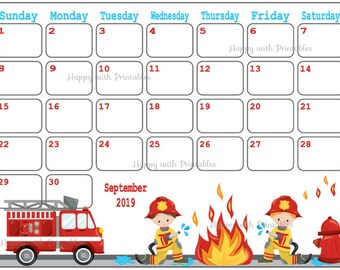 Christmas Theme Calendar December 2019 Calendar May 2019 Spring Planner Printable Cute Planner | Etsy