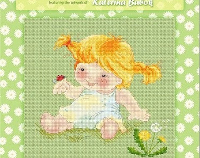 Ladybug Cross Stitch Chart Pattern by Katerina Babok
