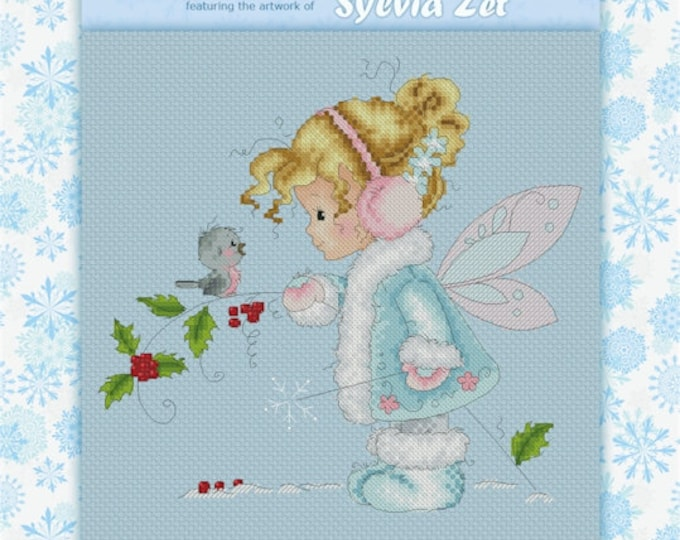 DISCONTINUED Chit Chat by Sylvia Zet  - Cross Stitch Needlepoint Chart Pattern