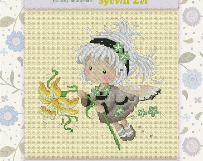 DISCONTINUED Daphne by Sylvia Zet  - Cross Stitch Needlepoint Chart Pattern