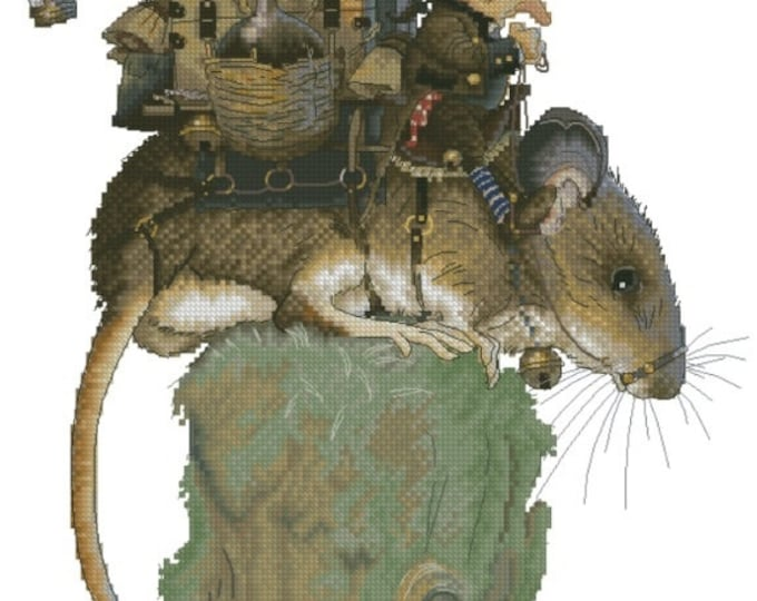 Cross Stitch Chart Great Journey Jean-Baptiste Monge