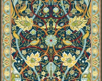 Bullerswood Rug Carpet by William Morris
