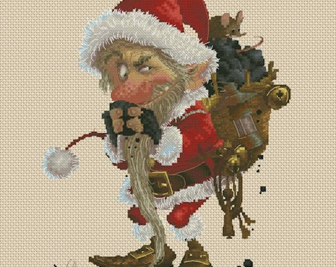 Cross Stitch Chart Little Krampus by Jean-Baptiste Monge
