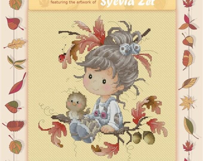DISCONTINUED Odette by Sylvia Zet  - Cross Stitch Needlepoint Chart Pattern
