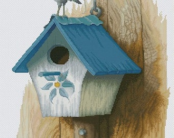 Cross Stitch Chart Robin Fairy by Pascal Moguerou Fantasy Art