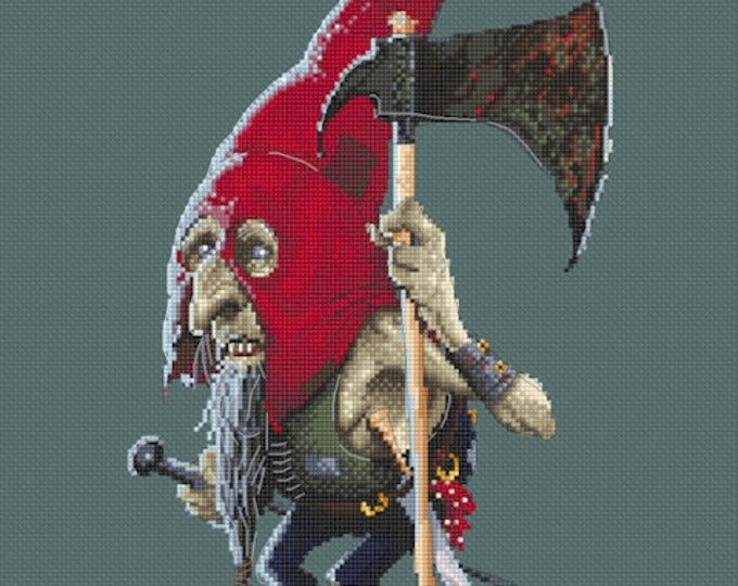 Cross Stitch Chart Boo Lena Lawson Needlearts - Art of Jean-Baptiste Monge