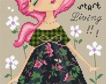 Cross Stitch Needlepoint Chart Pattern  Diane Duda
