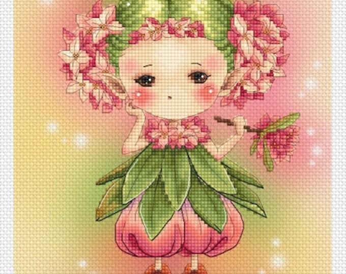 Daphne Sprite Mitzi Sato-Wiuff - Cross stitch Chart Pattern