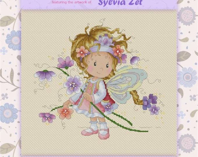 DISCONTINUED Dyanne by Sylvia Zet  - Cross Stitch Needlepoint Chart Pattern