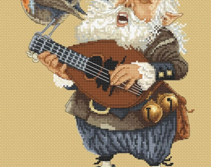 Cross Stitch Chart The Song by Jean-Baptiste Monge