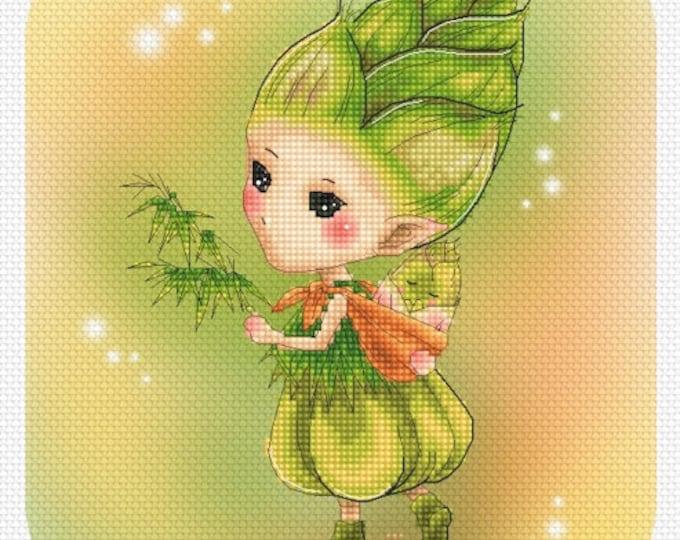 Bamboo Sprite Mitzi Sato-Wiuff - Cross stitch Chart Pattern