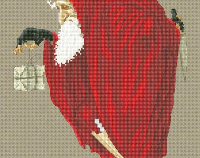 Cross Stitch Chart Christmas Bogeyman  by Jean-Baptiste Monge