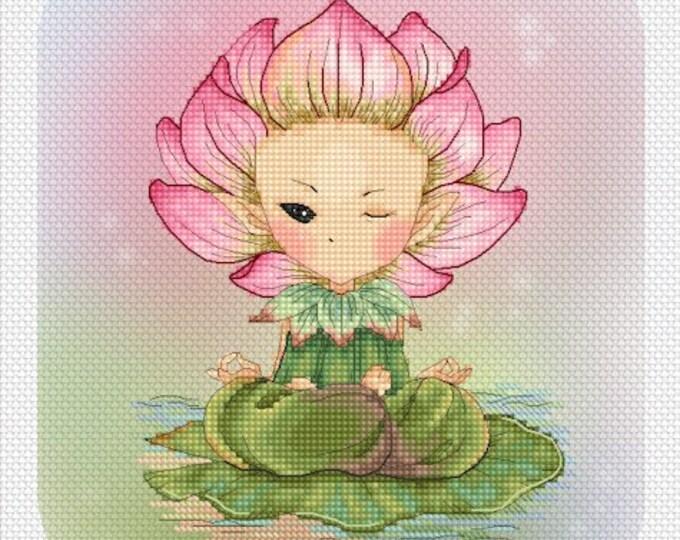 Lotus Sprite Mitzi Sato-Wiuff - Cross stitch Chart Pattern