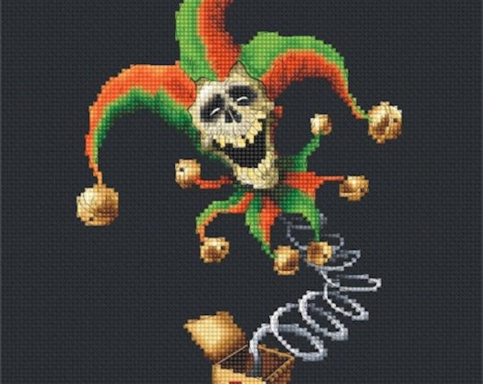 Cross Stitch Chart Jack in the Box by Pascal Moguerou