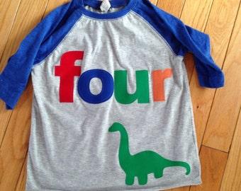 Birthday Boy-Dinosaurs
