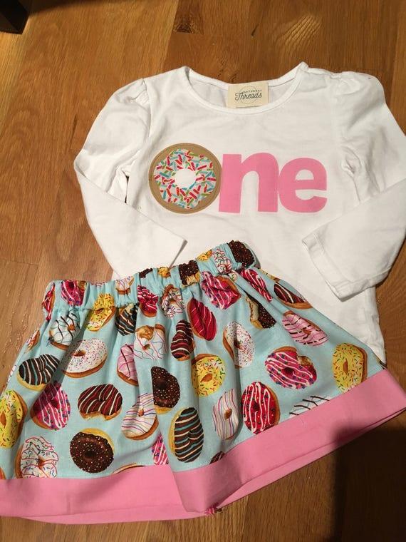 girls one donut party shirt, donut grow up birthday party, birthday donut shirt, sprinkles pink shirt, 1 2 3 4 donut birthday, party wear