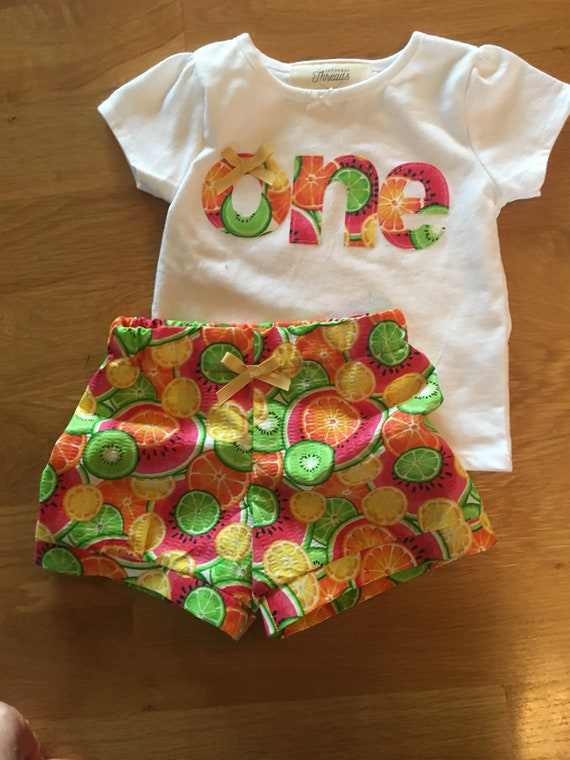 Girls birthday fruit shirt, Tutti Fruitti 1st birthday, fruit theme picnic first birthday, one girls birthday shirt, watermelon, oranges,
