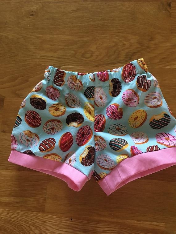 girls donut shorts, donut birthday party, donut day outfit, birthday donut shirt, sprinkles pink, 1 2 3 4 donut birthday, donut grow up