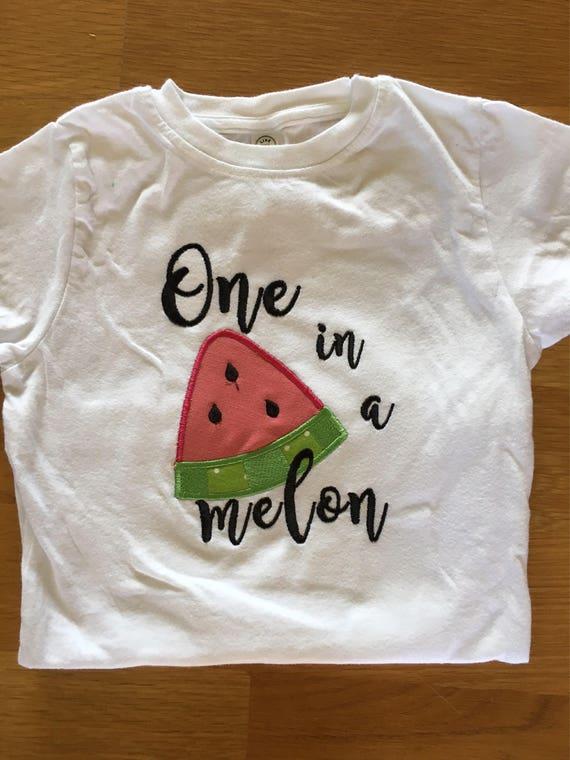 Girls one in a melon fruit shirt, Tutti Fruitti birthday, watermelon orange lemon lime theme picnic birthday theme, 1st birthday girl summer