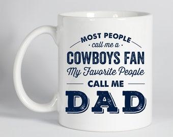 Cowboys Mug, Mug for Dad, Cowboys Gift, Coffee Mug, Dallas Cowboys, Gift for Dad