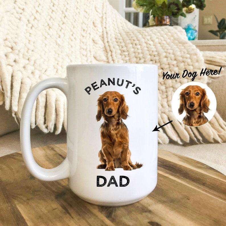 8cf1365a3288a Dog Mug, Personalized with your dog's photo and name, Custom Dog Mug, Dog  Gift, Dog Gifts for Owners, Dog Mug