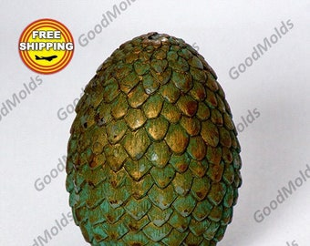 Dragon egg 3D candle mold soap mold silicone molds mold for soap Free shipping