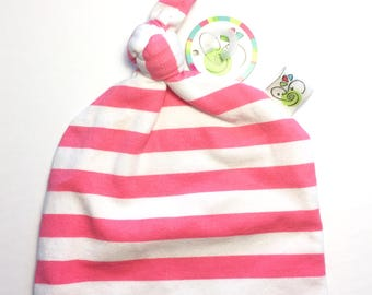 Knotted Hat 0-3 month Pirouette