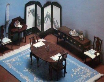 Handarbeit-Designs für Miniatur-Projekte von Dover Needlework Reihe [1984]