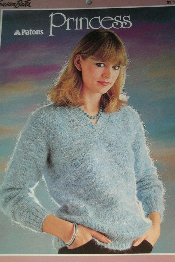 Susan Bates Patons Princess Knitting Patterns Book 17630 Etsy