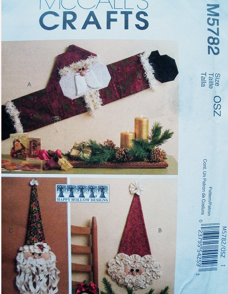 S/'MORE SNOWMEN WINTER QUILT QUILTING PATTERN From Happy Hollow Designs NEW