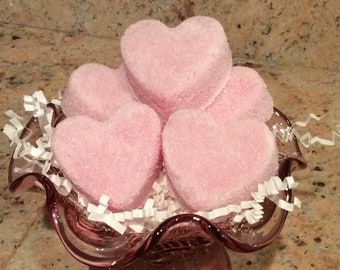 Sugar Scrub Hearts with Shea or Coffee Butters